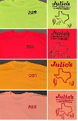 Julio's Texas Shirt Free Shipping