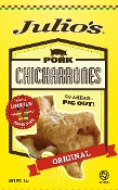 6 - 3oz Julio's Original Pork Rinds/Chicharrones