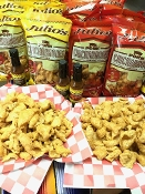 3 Original & 3 Freaking Hot Julio's Pork Rinds/Chicharrones